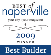 Best of Naperville Builder Award 2009