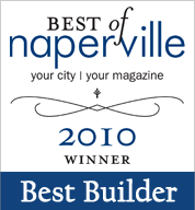 Best of Naperville Builder Award 2010