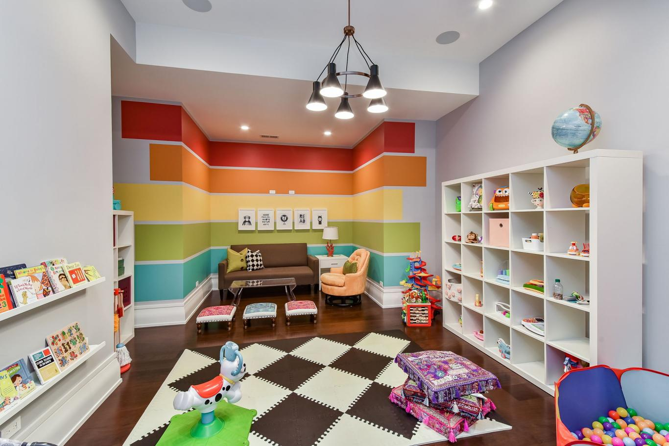 Custom Luxury Homes By Charleston Building - Basement Playroom 1 -