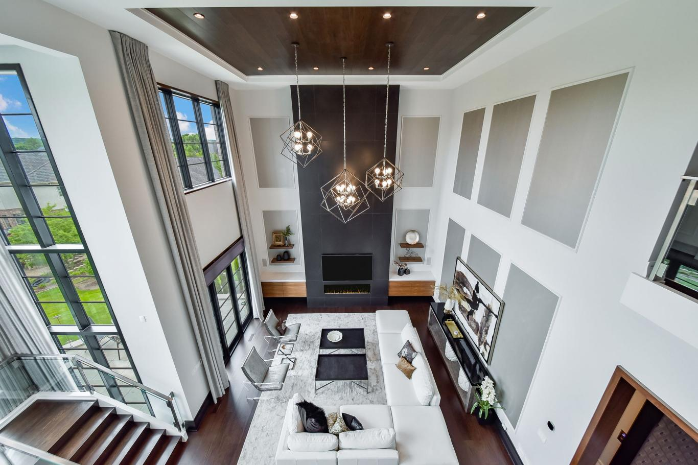 Custom Luxury Homes By Charleston Building - Great Room 1 -