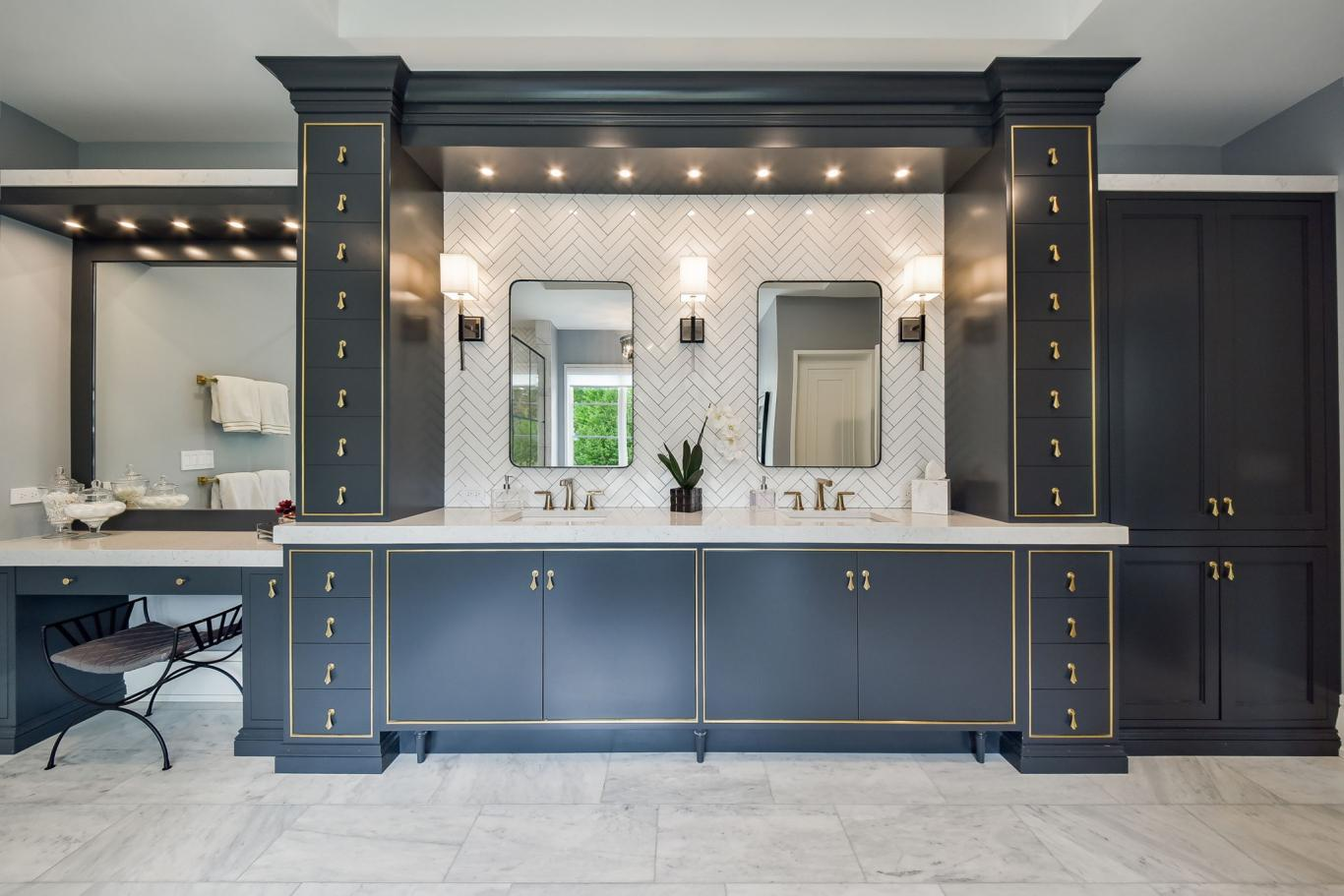 Custom Luxury Homes By Charleston Building - Master Suite Bathroom 2 -