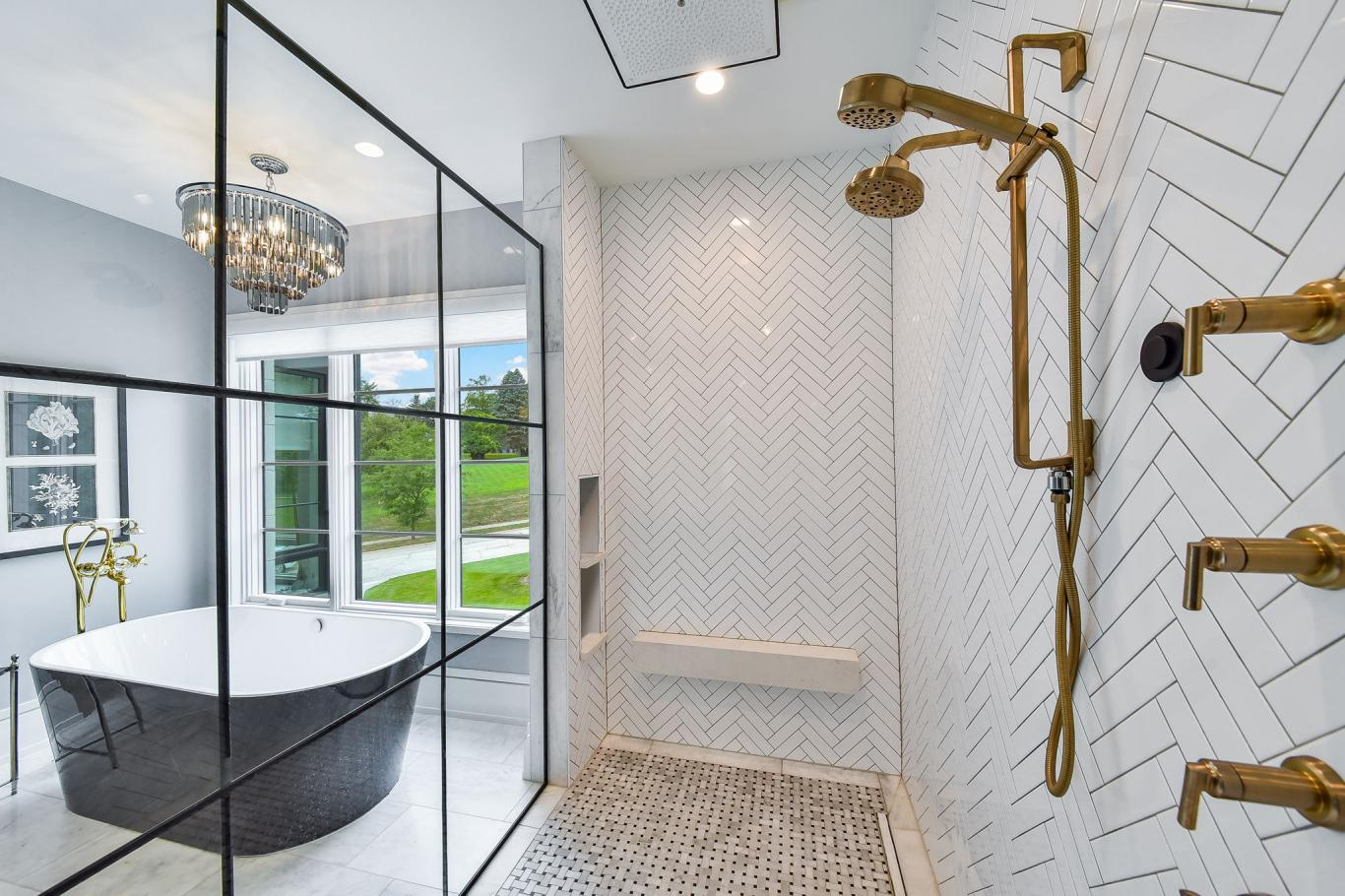 Custom Luxury Homes By Charleston Building - Master Suite Shower -