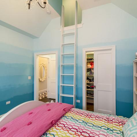 Child's Bedroom With Custom Loft